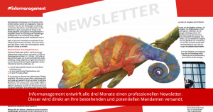 gedruckter Newsletter